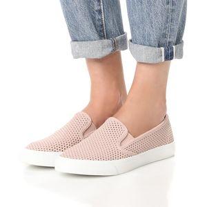 Sperry Pink Seaside Perforated Slip-on Sneakers 9